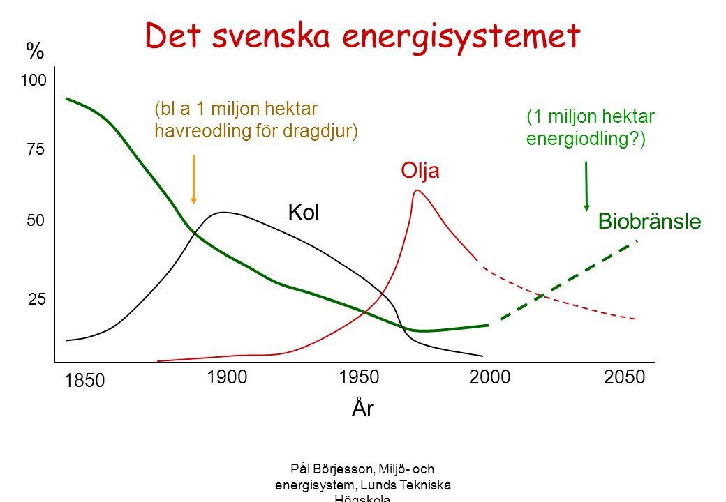 Det svenska energisystemet