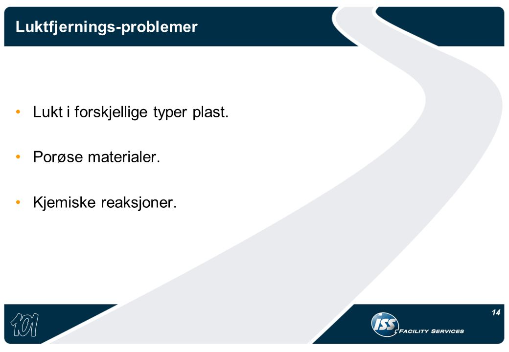 Luktfjernings-problemer