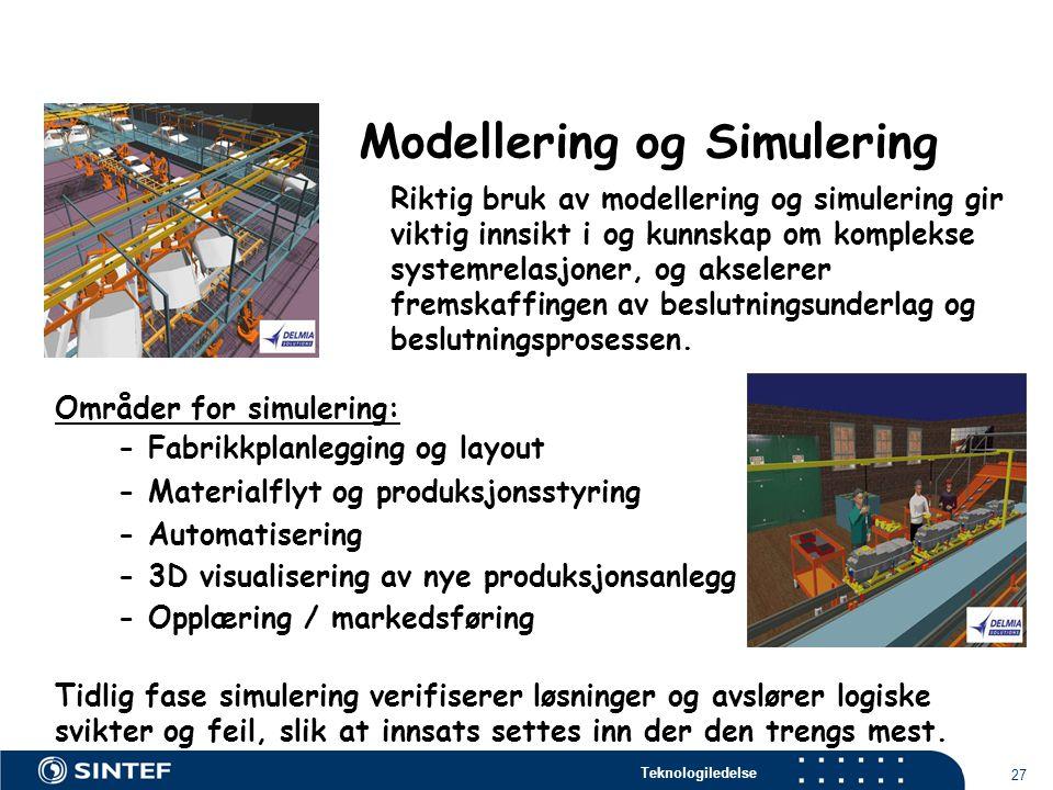 Modellering og Simulering
