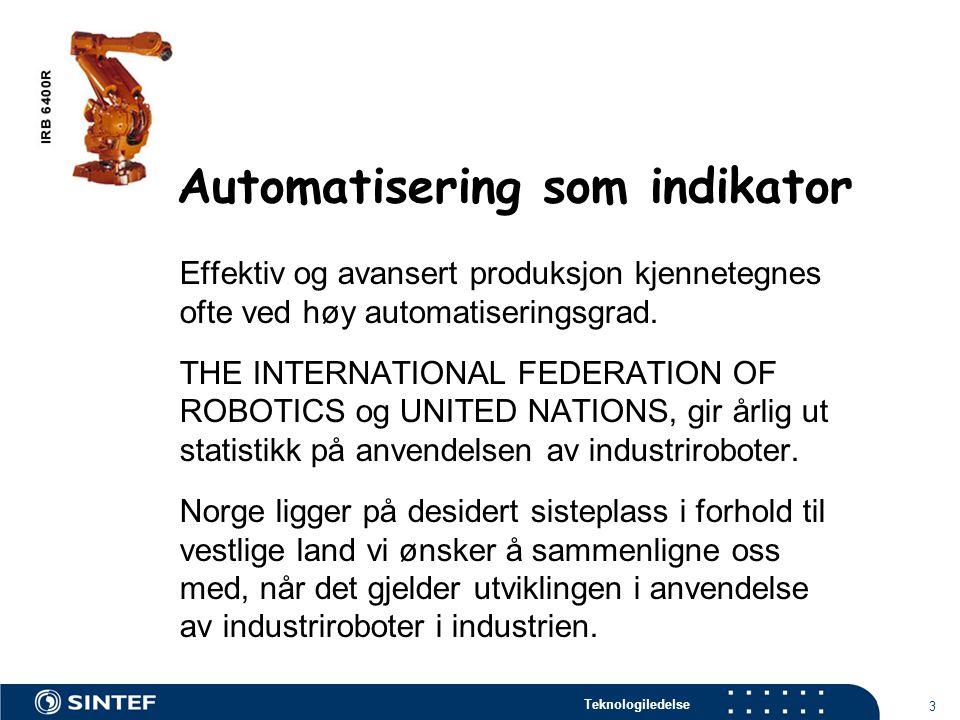 Automatisering som indikator