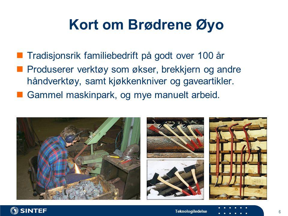 Kort om Brødrene Øyo Tradisjonsrik familiebedrift på godt over 100 år