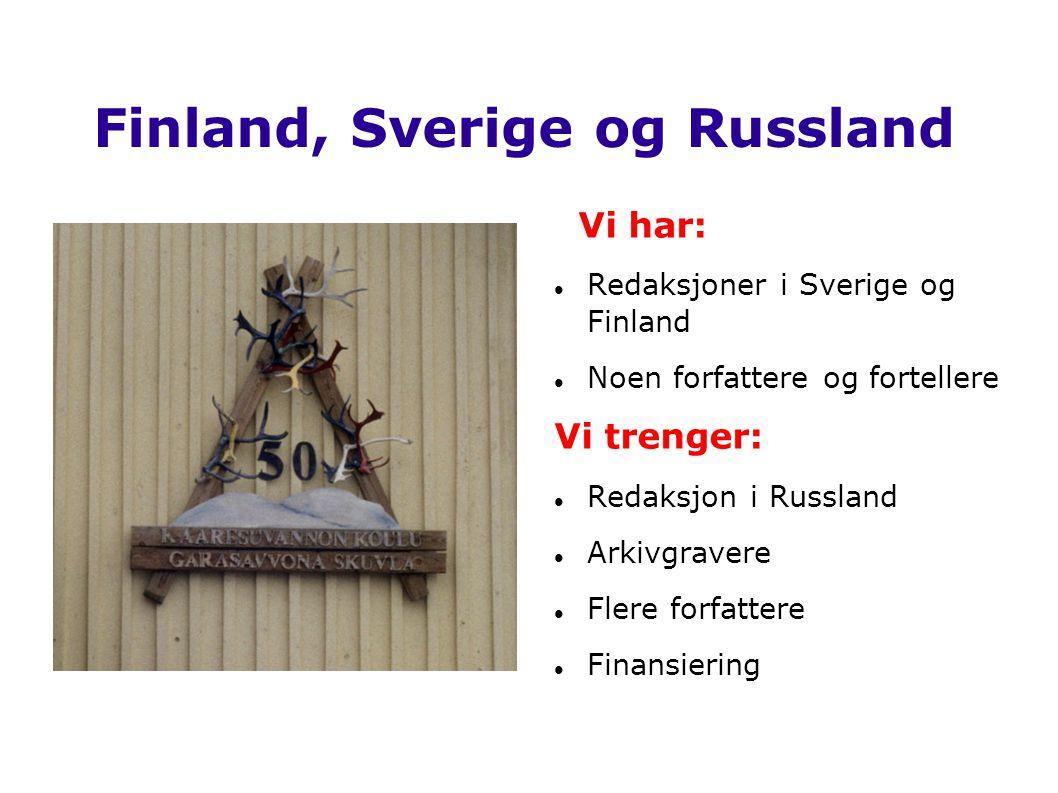 Finland, Sverige og Russland