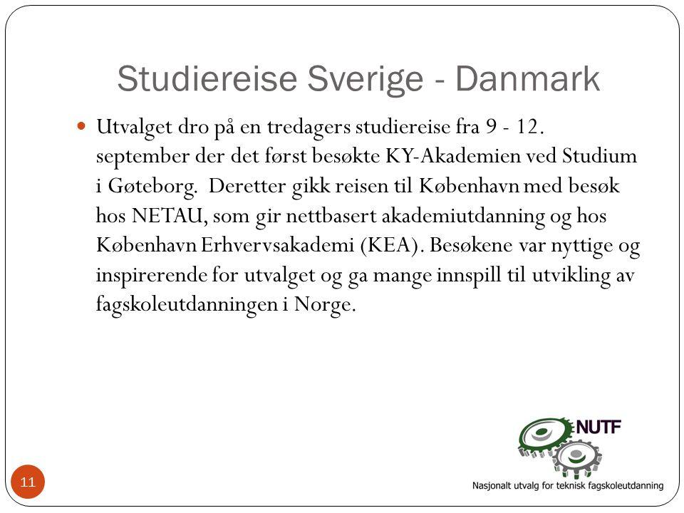 Studiereise Sverige - Danmark