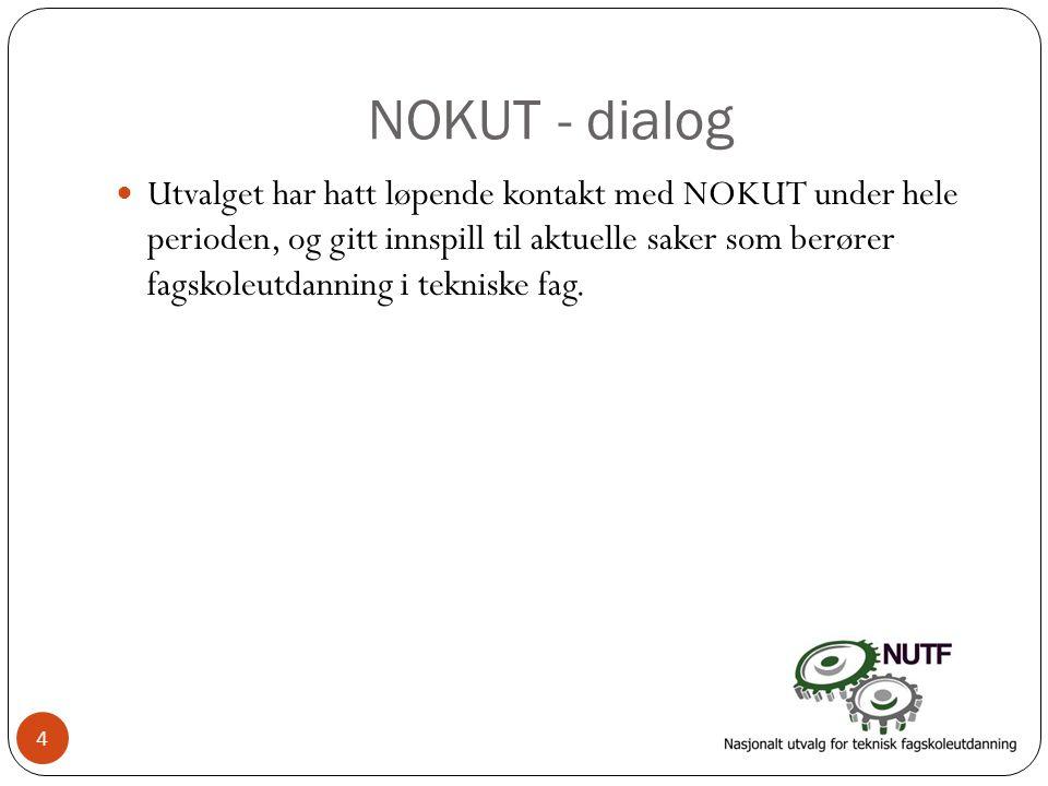 NOKUT - dialog
