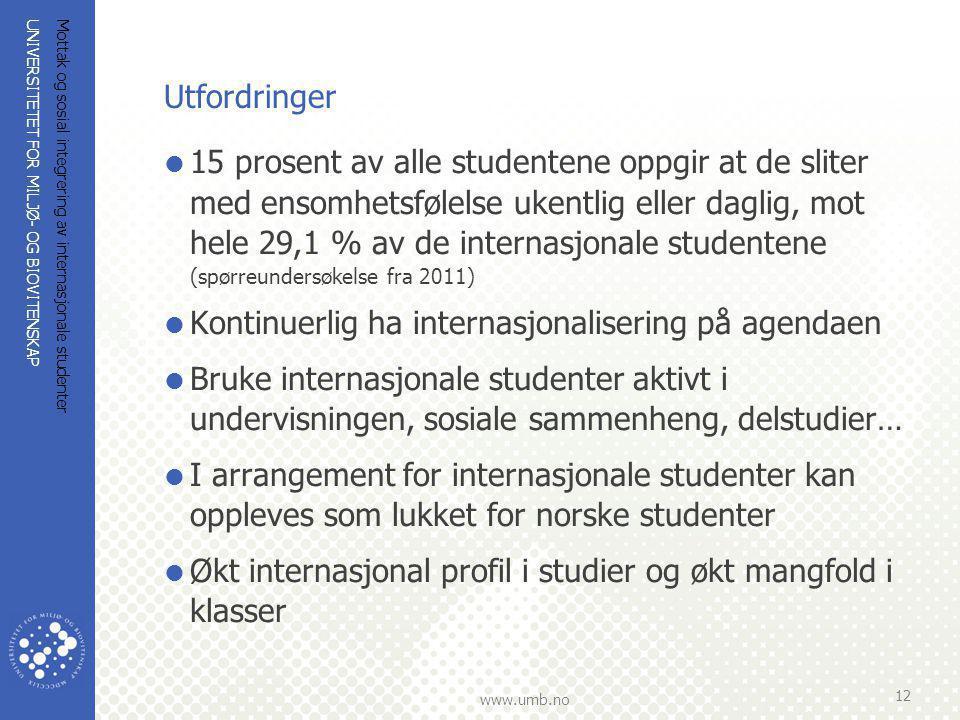 Kontinuerlig ha internasjonalisering på agendaen