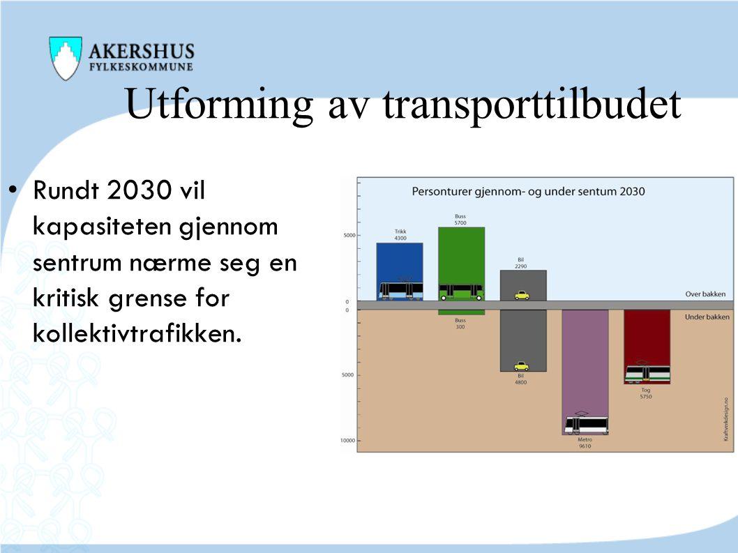 Utforming av transporttilbudet