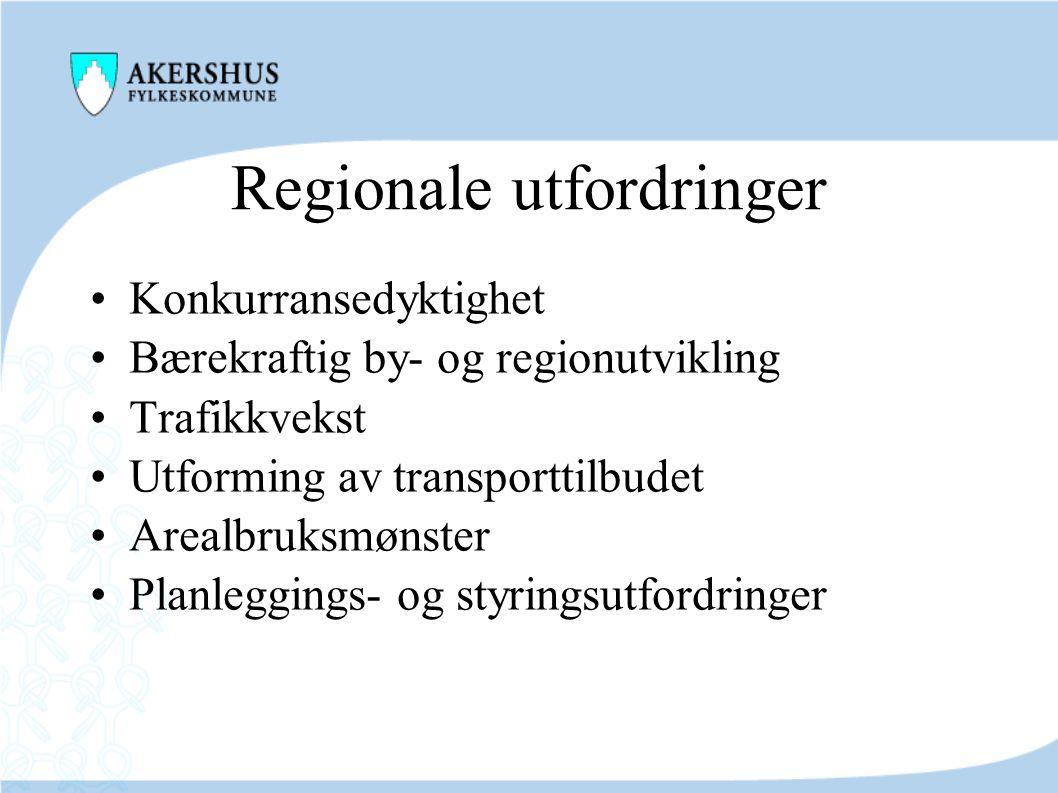 Regionale utfordringer