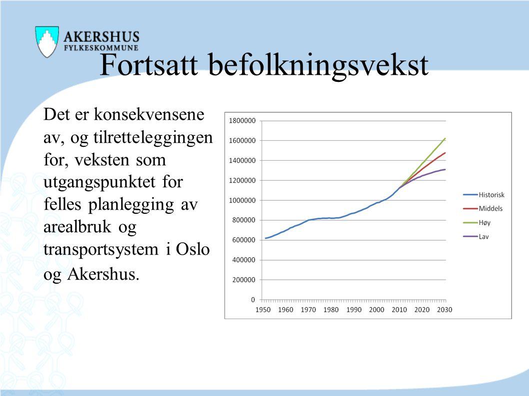 Fortsatt befolkningsvekst