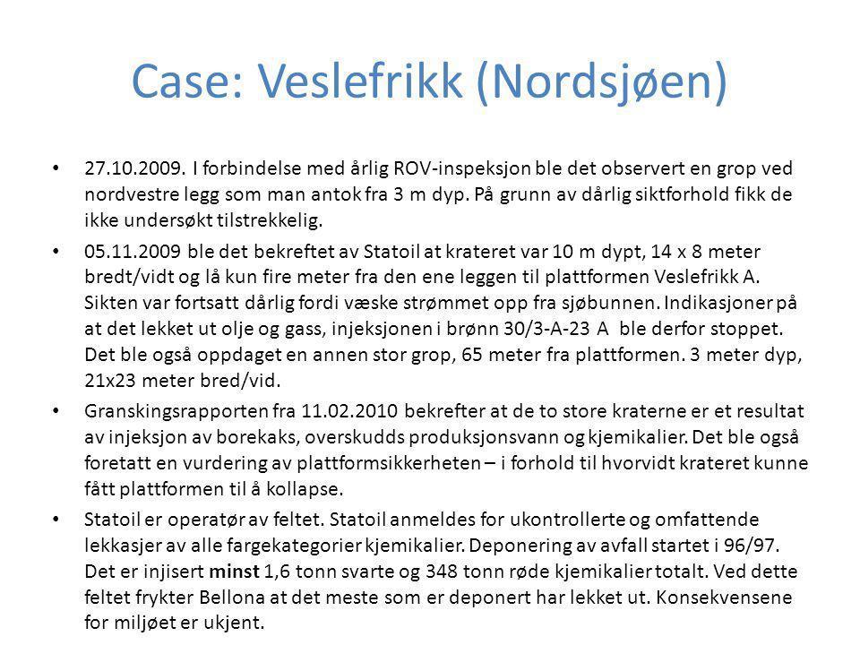 Case: Veslefrikk (Nordsjøen)