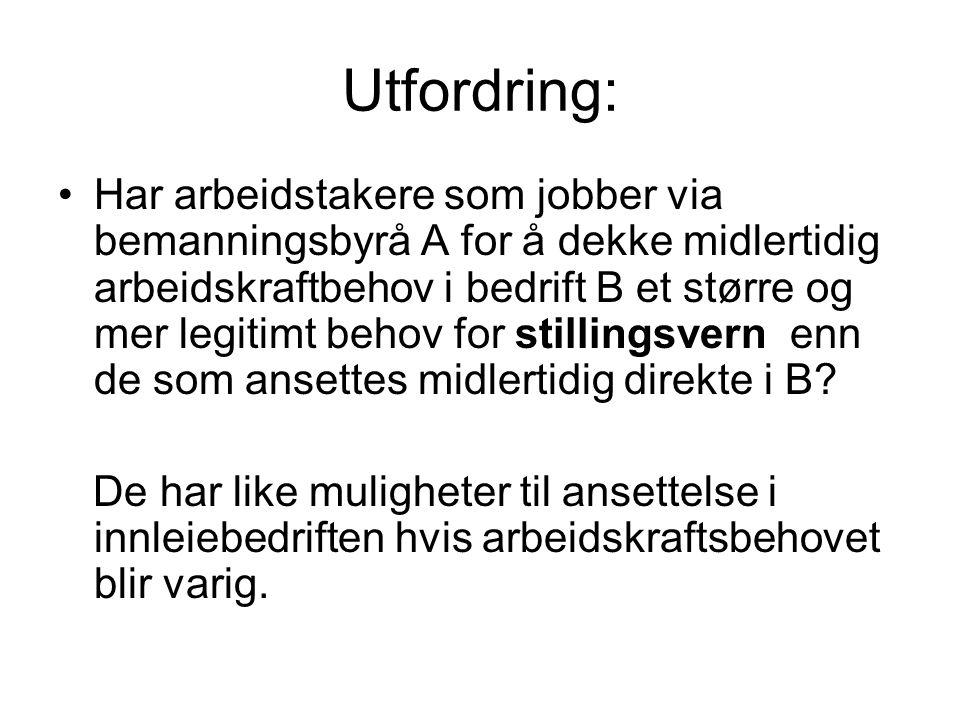 Utfordring: