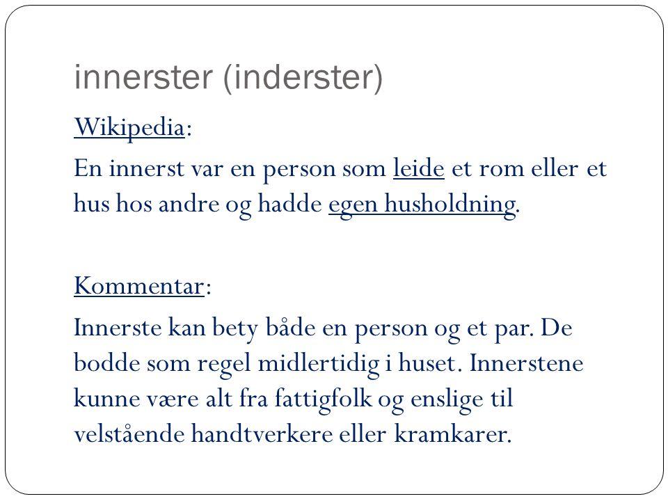 innerster (inderster)