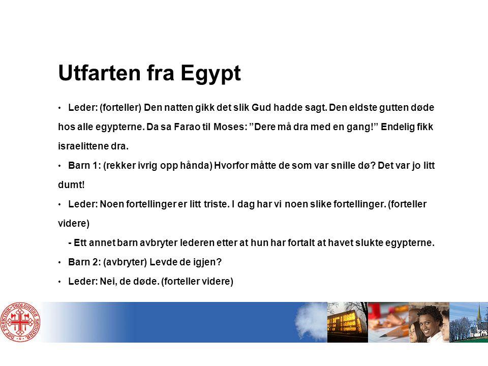 Utfarten fra Egypt