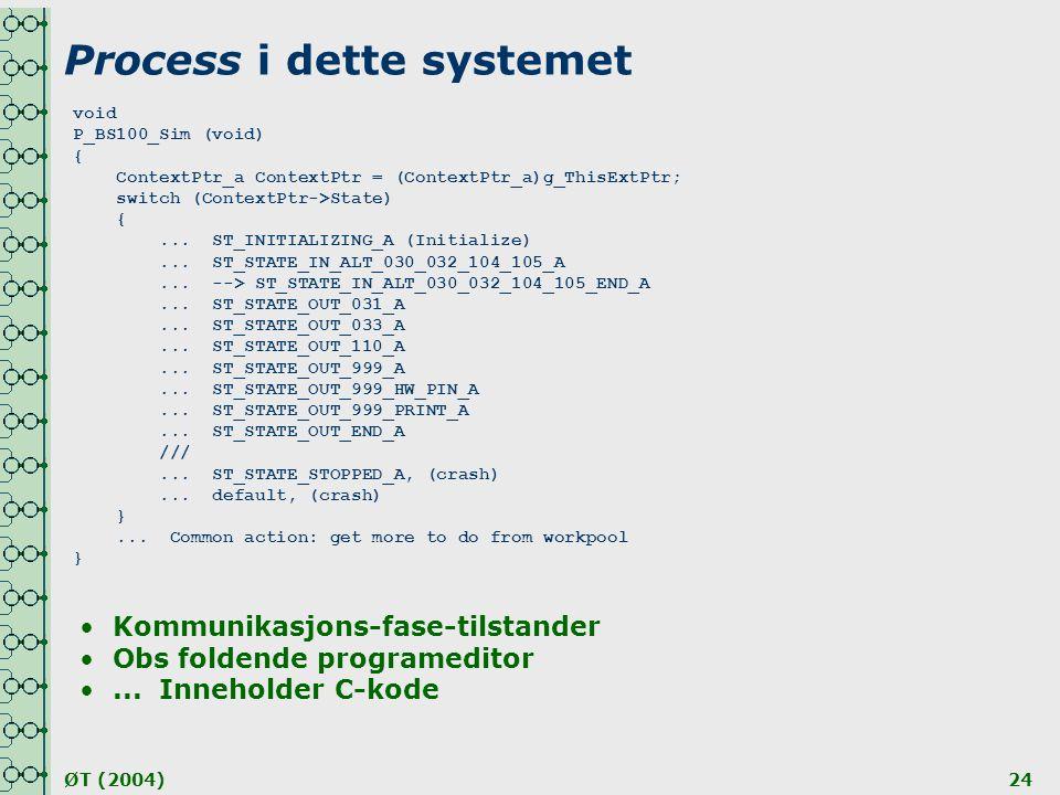 Process i dette systemet