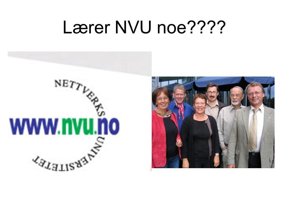 Lærer NVU noe Litteratur