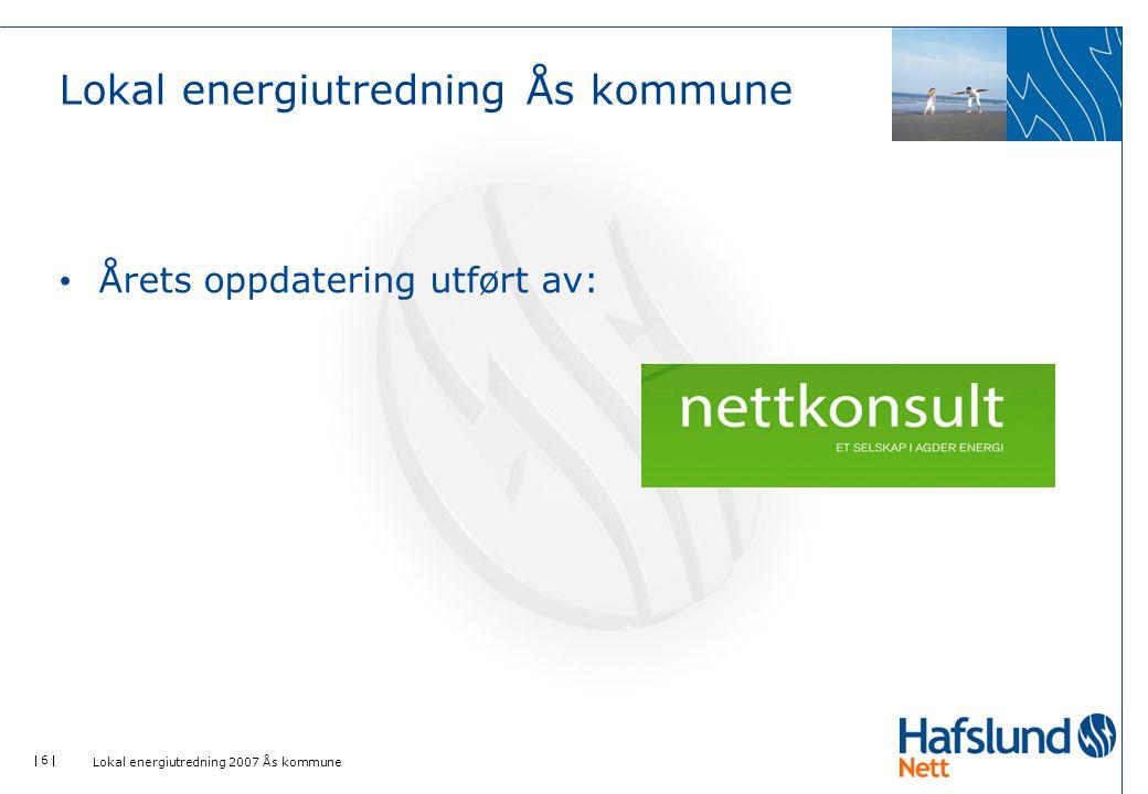 Lokal energiutredning Ås kommune