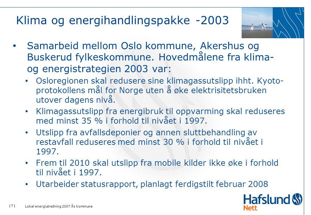 Klima og energihandlingspakke -2003