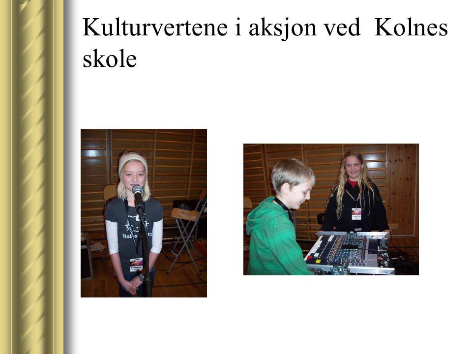 Kulturvertene i aksjon ved Kolnes skole