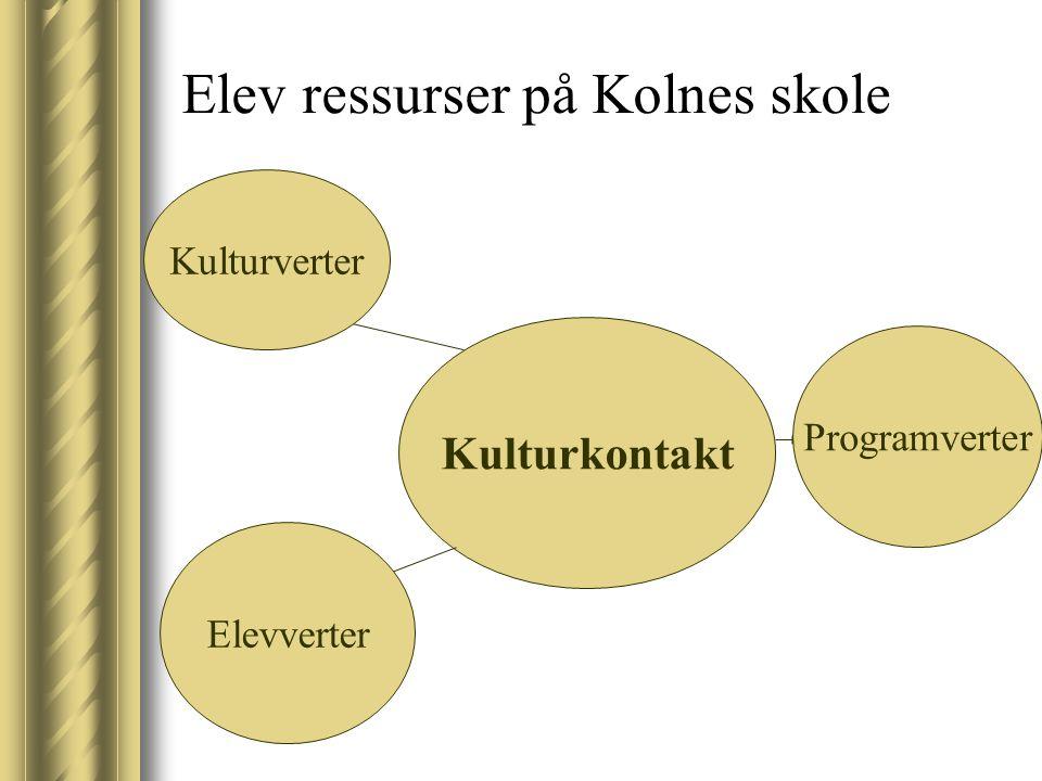 Elev ressurser på Kolnes skole