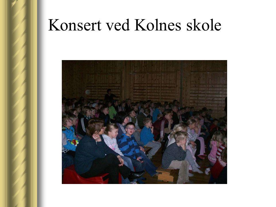 Konsert ved Kolnes skole