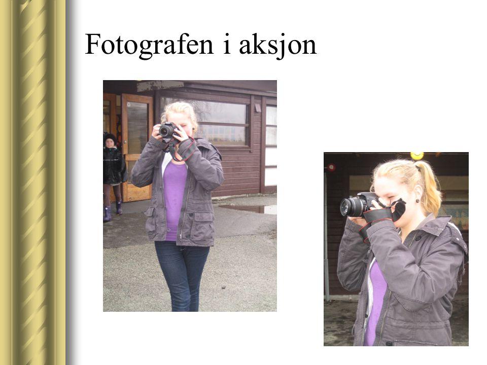 Fotografen i aksjon