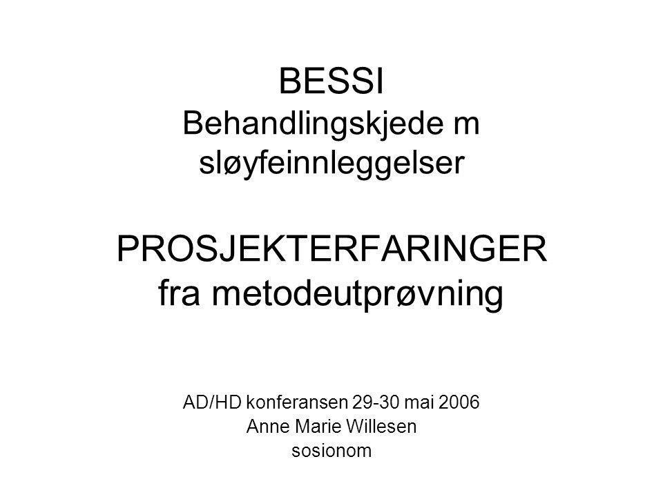 AD/HD konferansen 29-30 mai 2006 Anne Marie Willesen sosionom