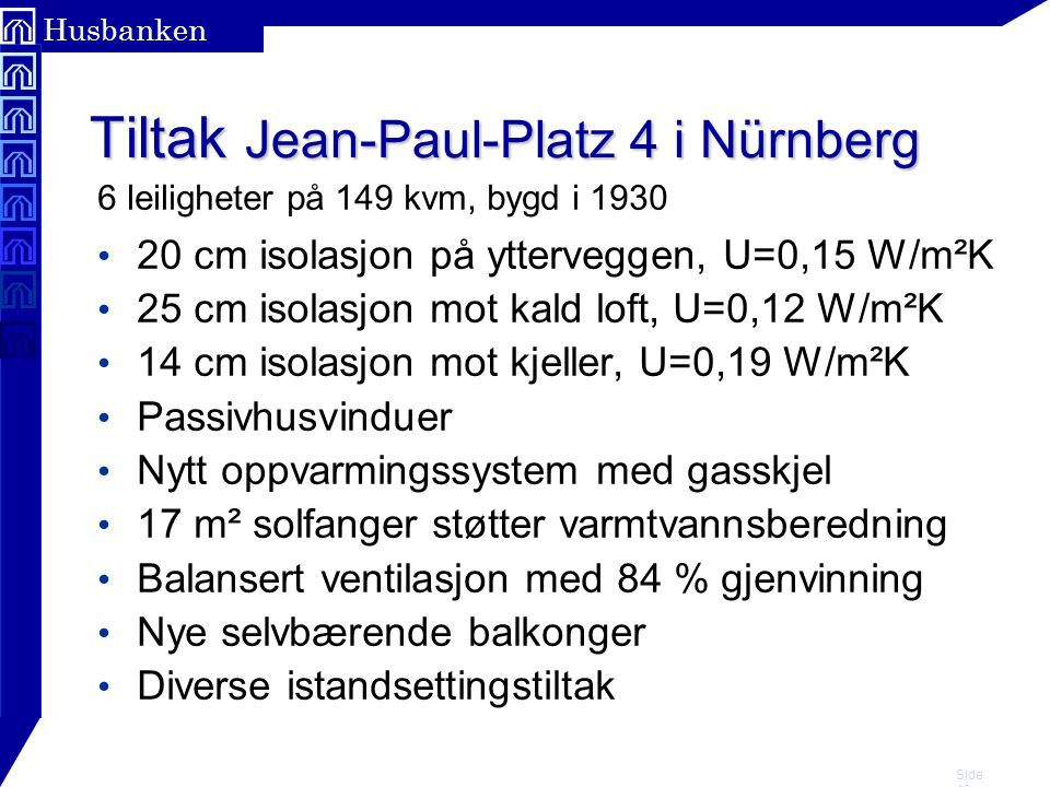 Tiltak Jean-Paul-Platz 4 i Nürnberg