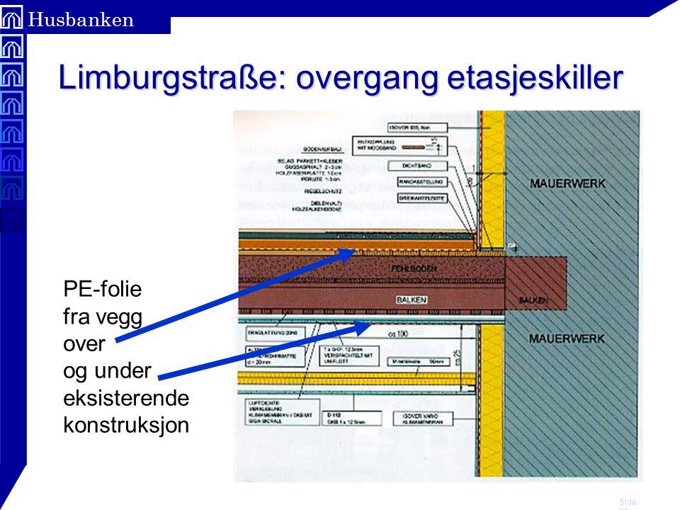 Limburgstraße: overgang etasjeskiller
