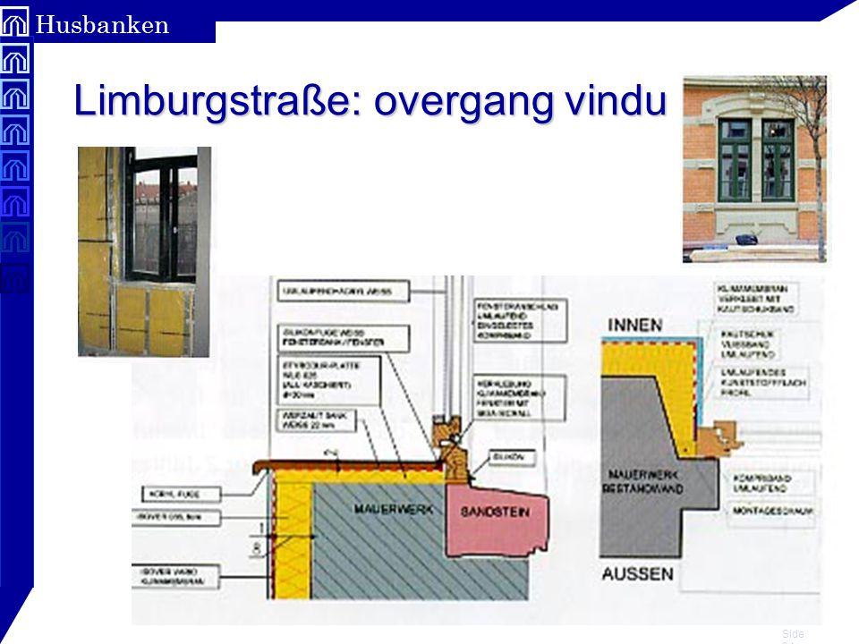 Limburgstraße: overgang vindu