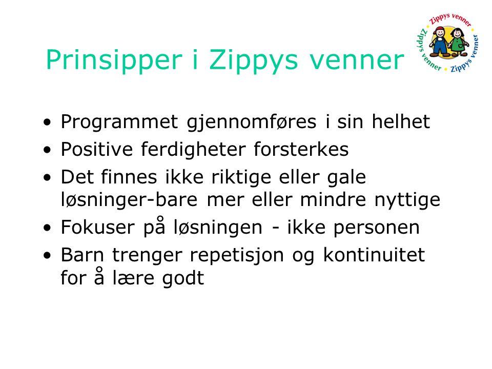 Prinsipper i Zippys venner