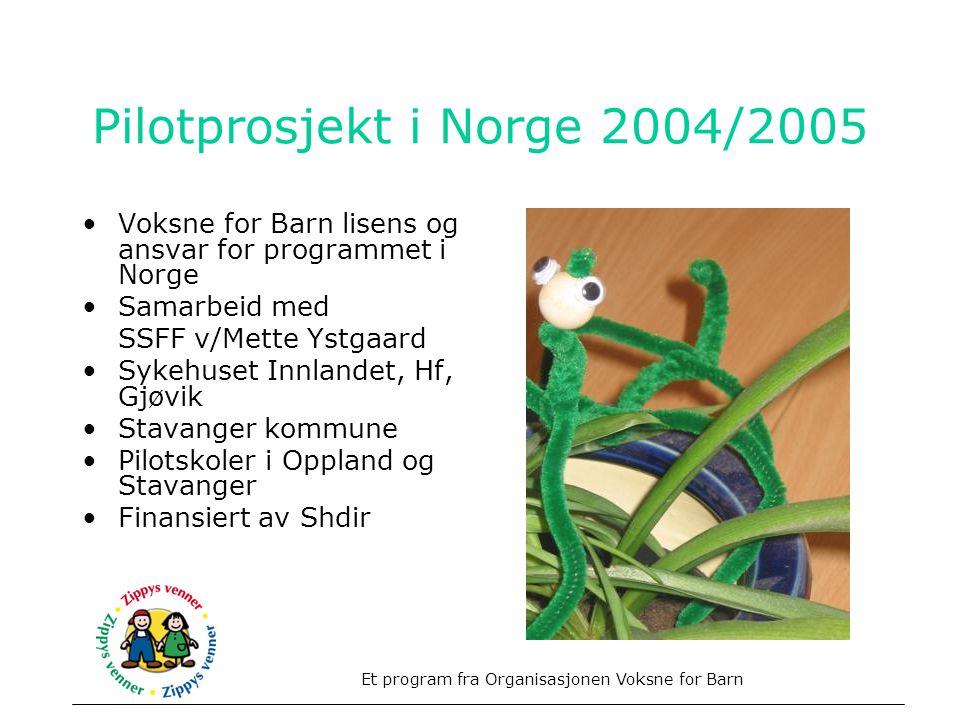 Pilotprosjekt i Norge 2004/2005