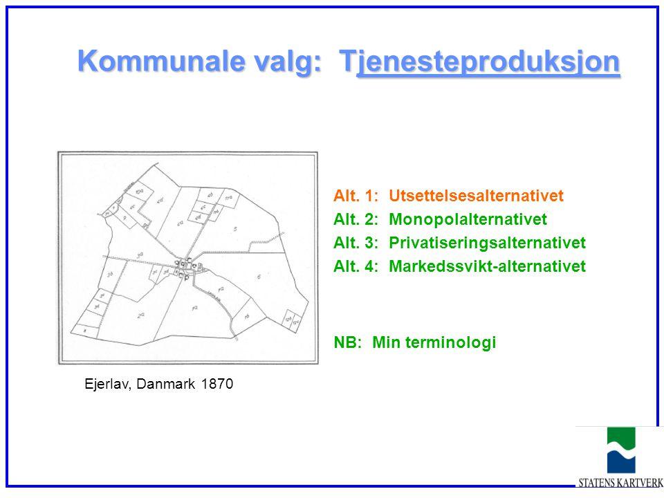 Kommunale valg: Tjenesteproduksjon
