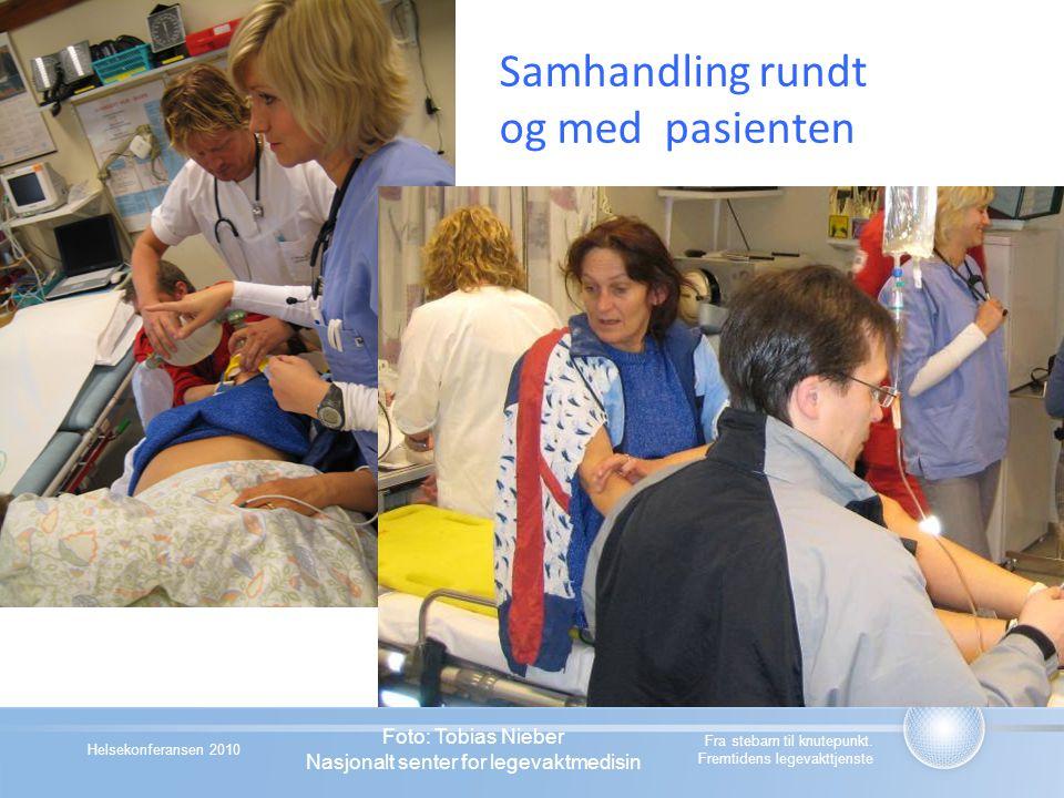 Samhandling rundt og med pasienten