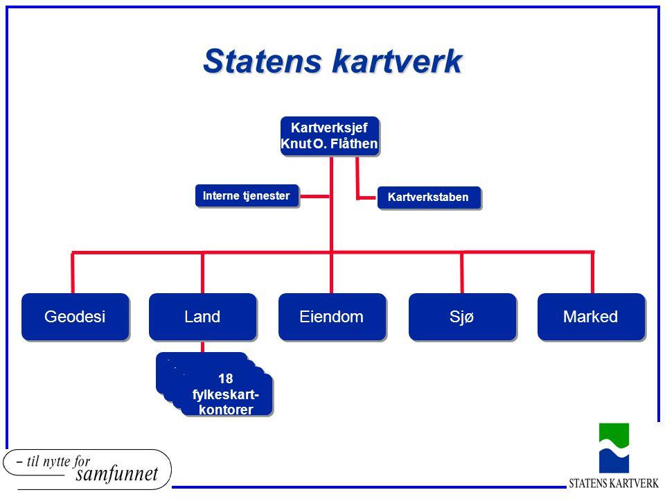 Statens kartverk Geodesi Land Marked Sjø Eiendom Kartverksjef