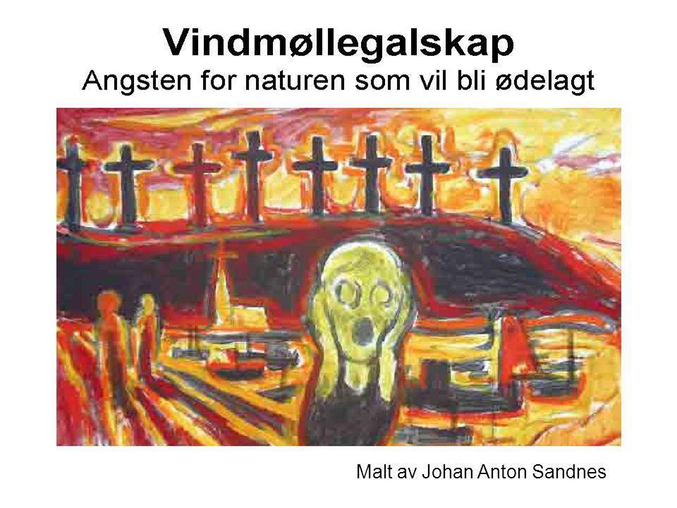 Malt av Johan Anton Sandnes