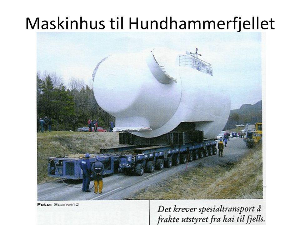 Maskinhus til Hundhammerfjellet