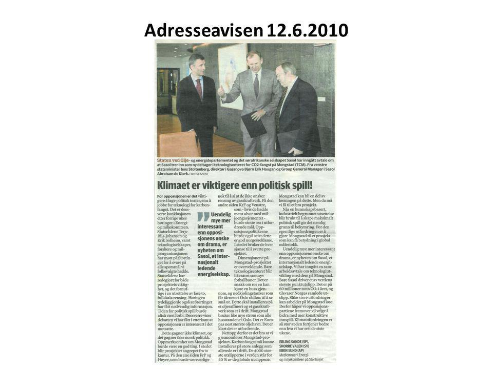 Adresseavisen 12.6.2010