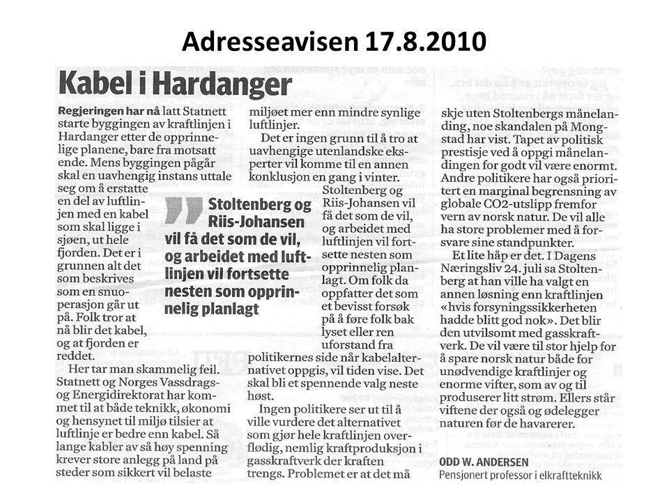 Adresseavisen 17.8.2010