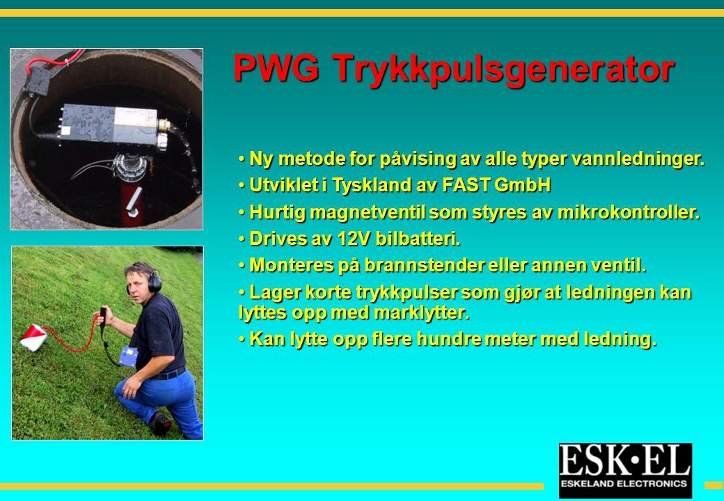PWG Trykkpulsgenerator