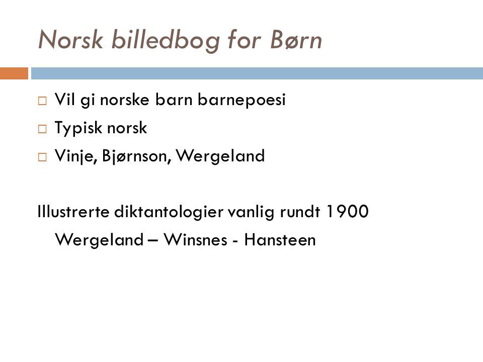 Norsk billedbog for Børn