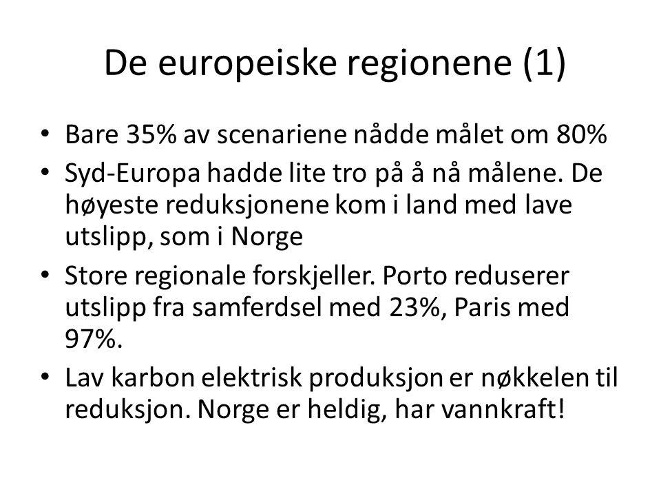 De europeiske regionene (1)