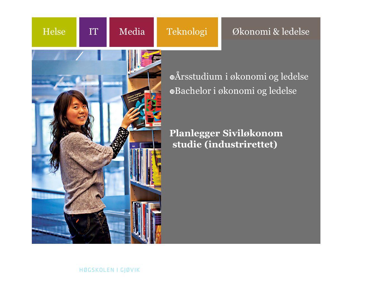 Årsstudium i økonomi og ledelse Bachelor i økonomi og ledelse
