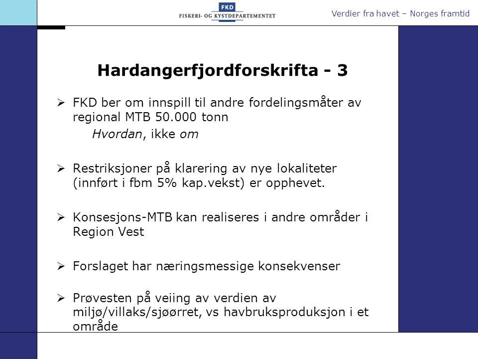 Hardangerfjordforskrifta - 3