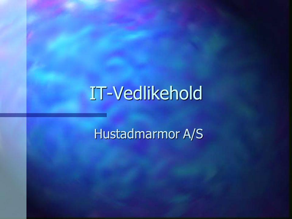 IT-Vedlikehold Hustadmarmor A/S