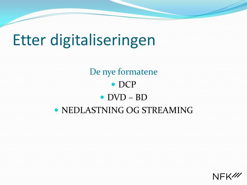 Etter digitaliseringen