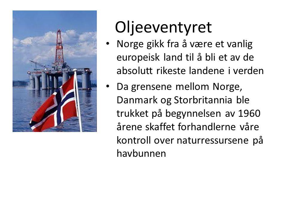 Oljeeventyret Norge gikk fra å være et vanlig europeisk land til å bli et av de absolutt rikeste landene i verden.