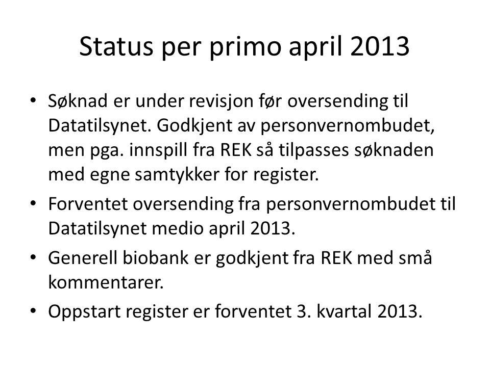 Status per primo april 2013
