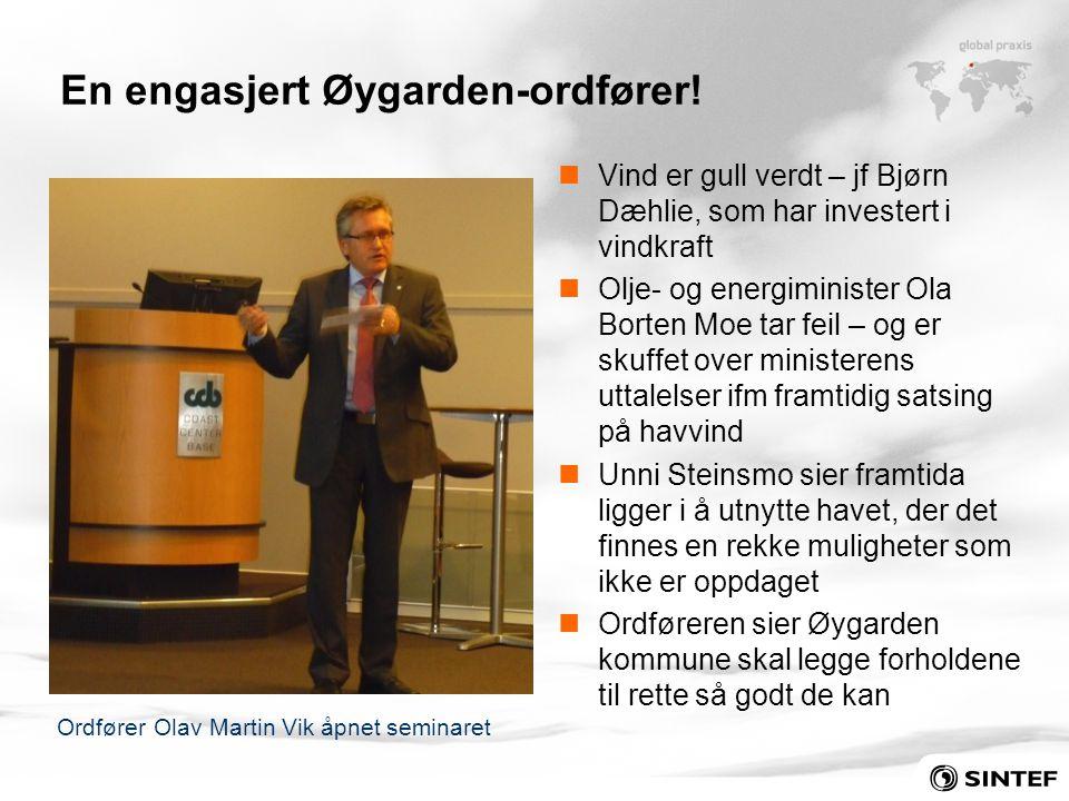 En engasjert Øygarden-ordfører!