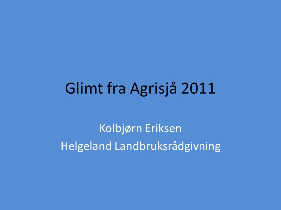 Kolbjørn Eriksen Helgeland Landbruksrådgivning