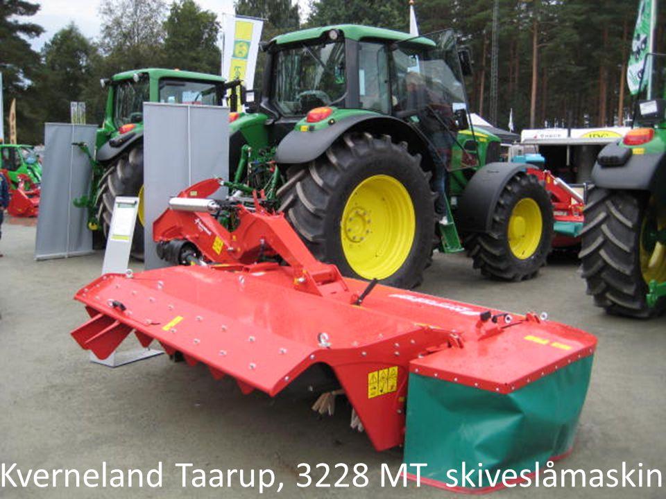 Kverneland Taarup, 3228 MT skiveslåmaskin