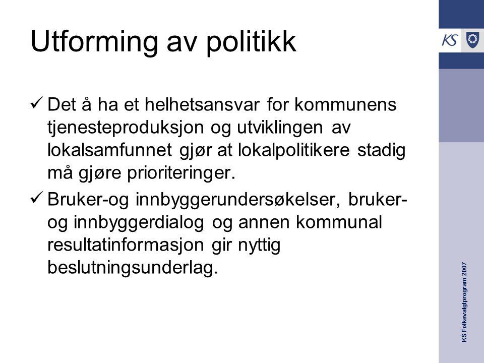 Utforming av politikk